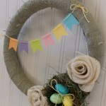 Spring Wreath–First video tutorial!!