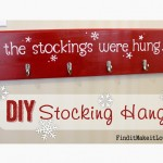 DIY Stockings and Stocking Holder