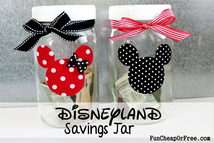 Disneyland savings jar