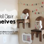 Doll Chair Shelves – Wood Connection Giveaway!