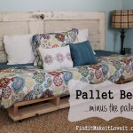 Pallet Bed…..minus the pallet