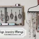 Vintage Jewelry Storage & Organization
