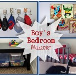 Boy bedroom: BEFORE & AFTER