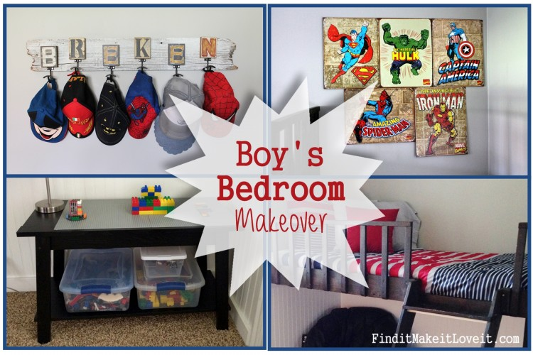 Boys Bedroom bead board (10)
