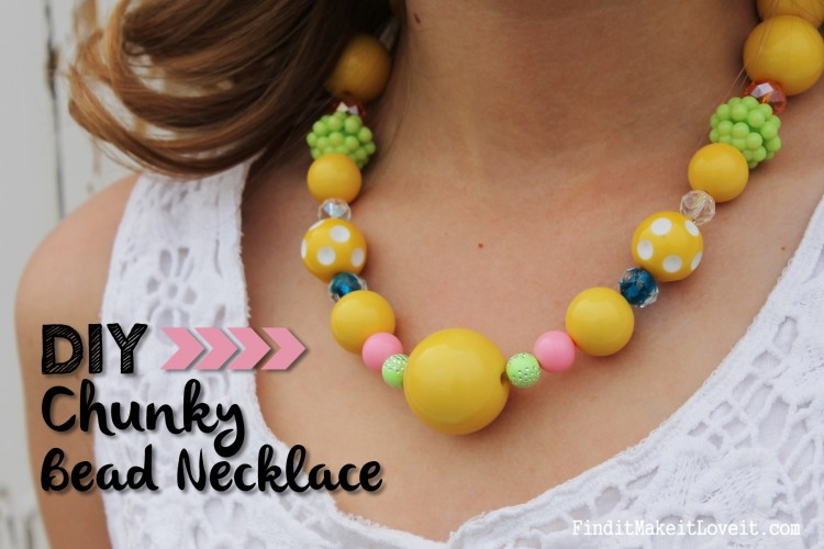 DIY Chunky Bead Necklace (3)