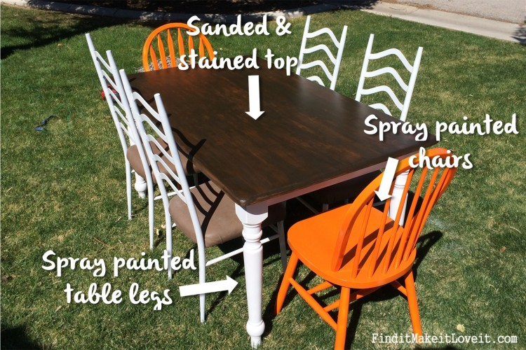 Dining table makeover (3)