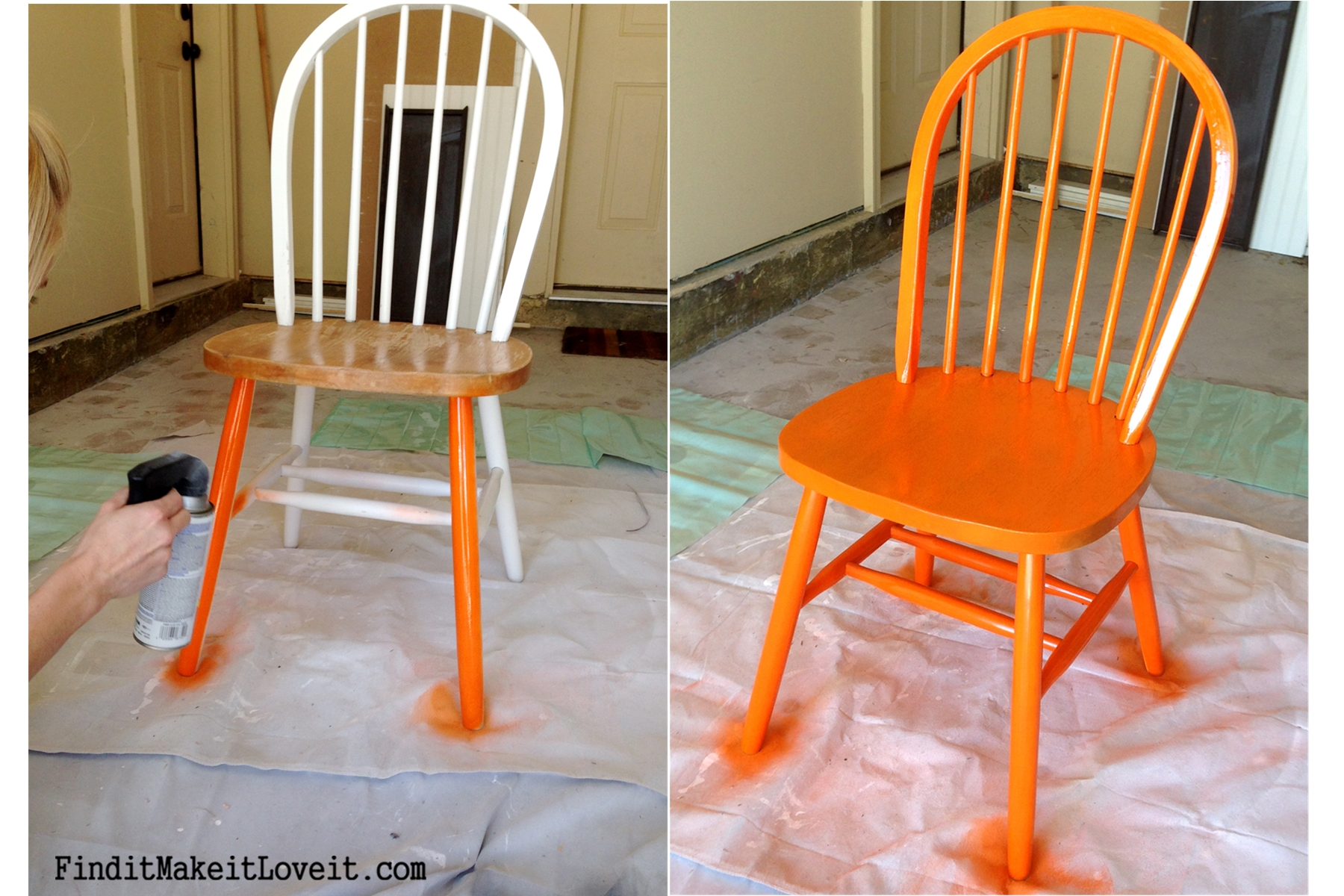 Dining Table & Chairs Re-finish {Transformation Tuesday} - Find it ...