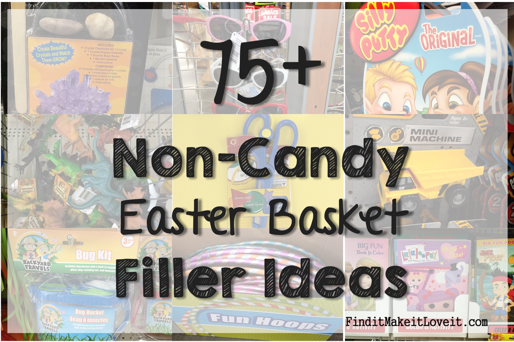 75 non candy easter basket ideas find it make it love it non candy easter ideas 1 negle Images