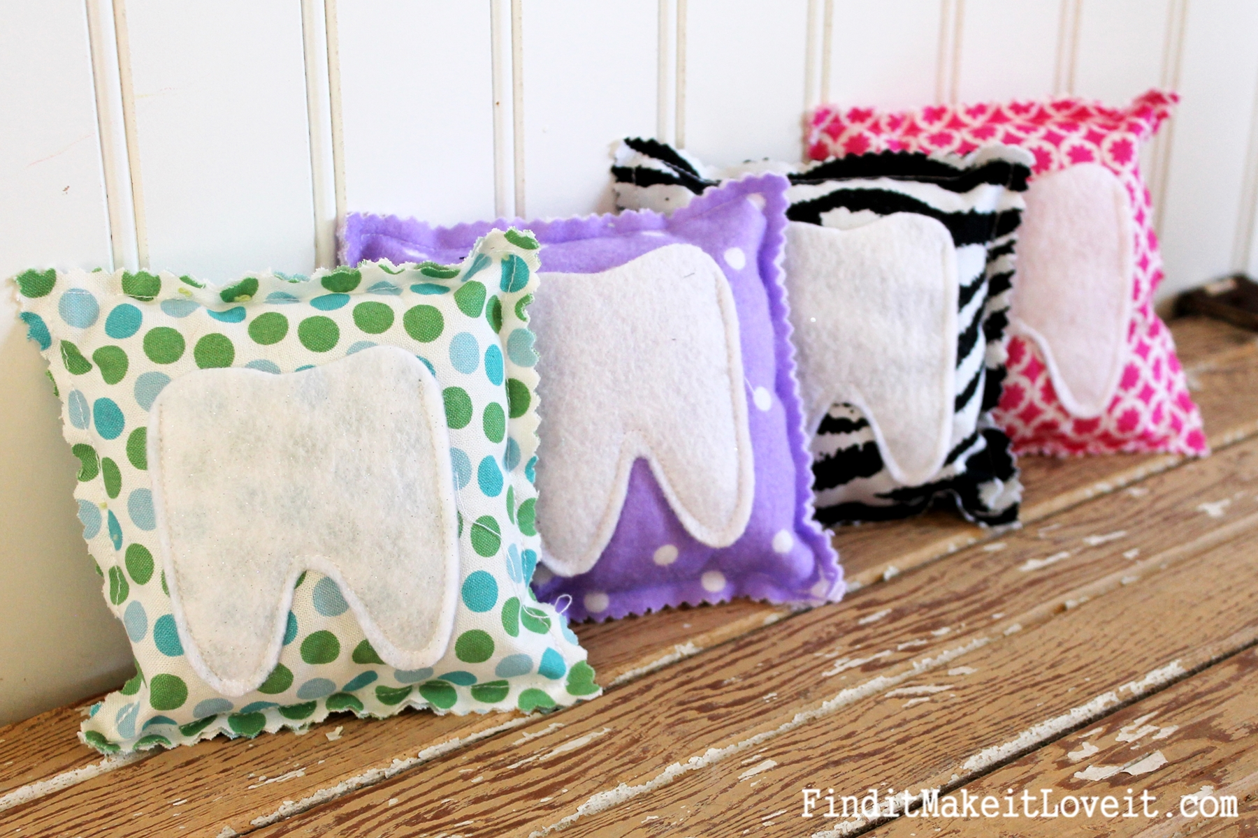 Diy tooth fairy pillow mountain view pediatric dentistry for Cheap kids pillows
