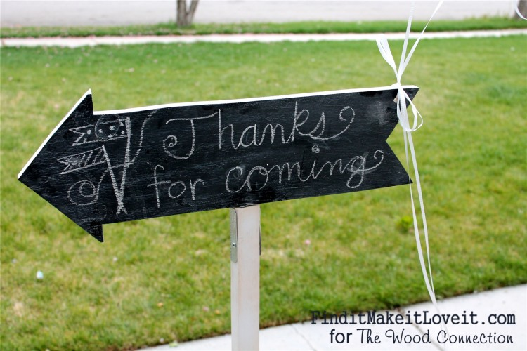Chalkboard party sign (13)