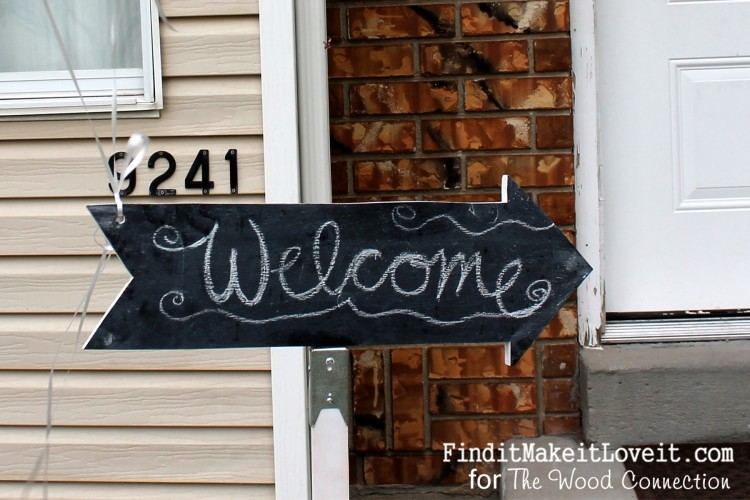 Chalkboard party sign (14)