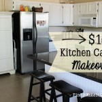 $150 Kitchen Cabinet Makeover