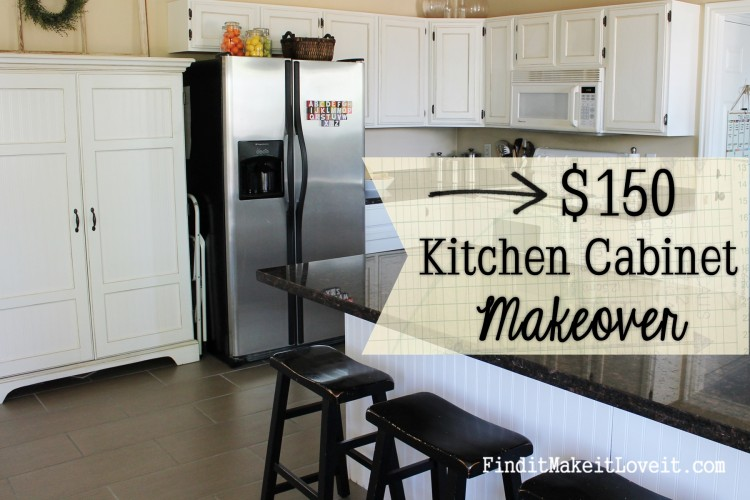painted kitchen cabinets diy - Oak Kitchen Cabinet Makeover