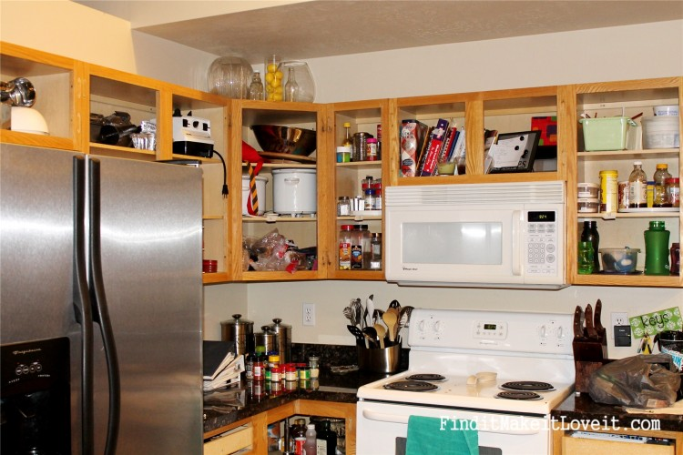 Painted kitchen cabinets DIY (15)