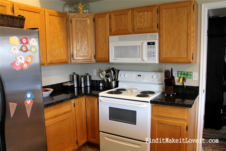 Painted kitchen cabinets DIY (19)