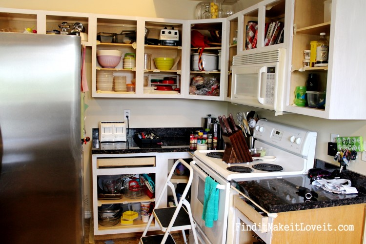Painted kitchen cabinets DIY (26)