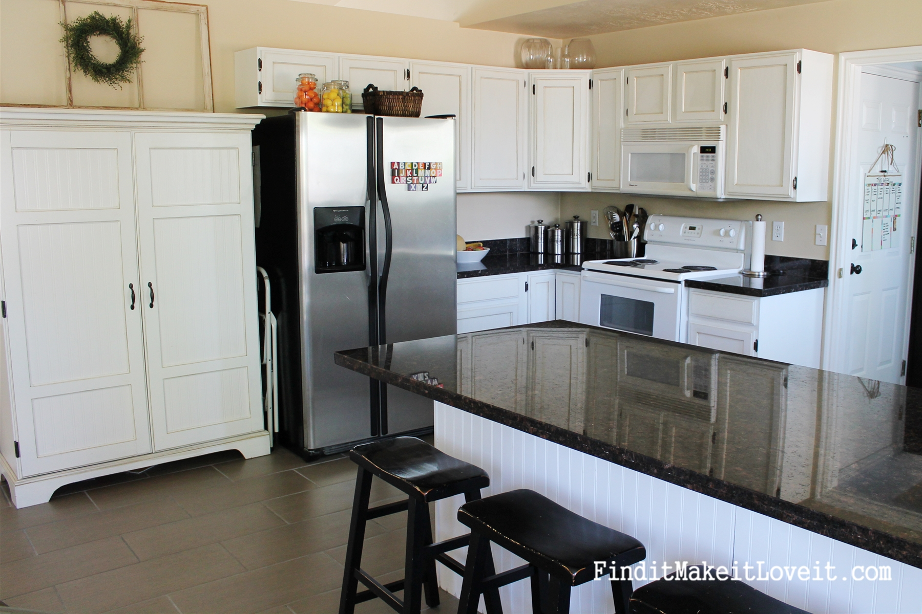 ... Painted Kitchen Cabinets DIY (6)