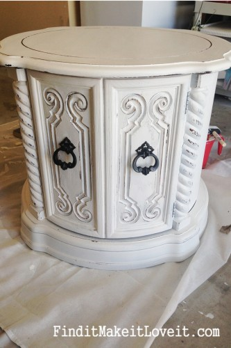 Painted side table (4)