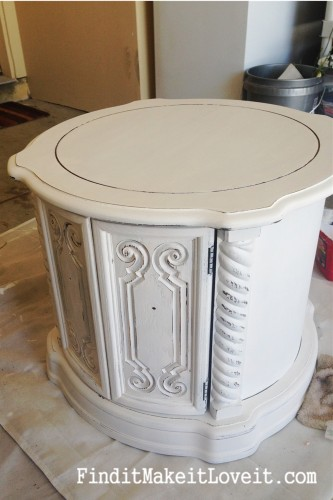 Painted side table (5)
