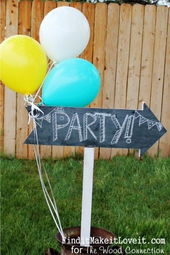 chalkboard party sign (15)