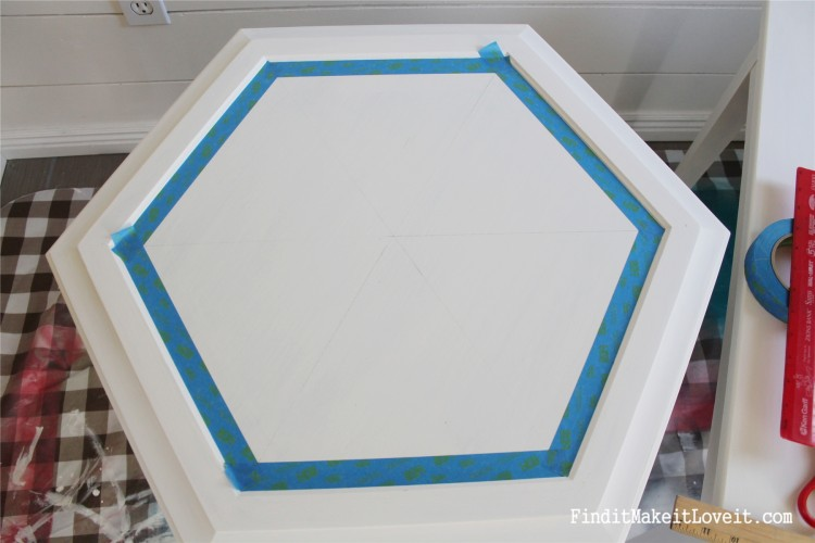 DIY Chalk Paint-Hex table (14)