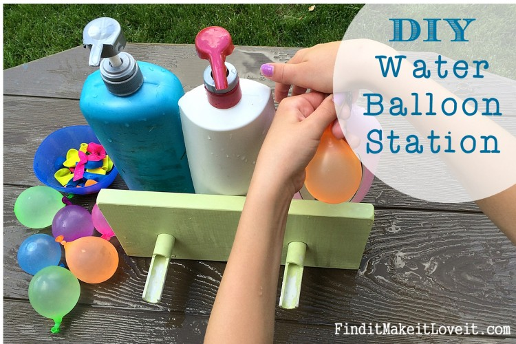 Water Balloon Station and pump (10)