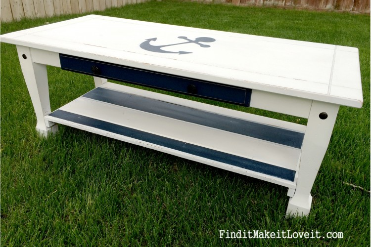 painted nautical table (6)