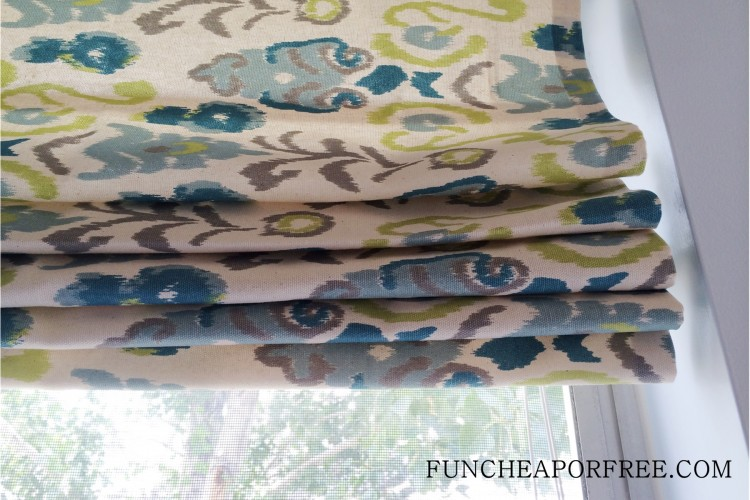 DIY No Sew Roman Shades (14)