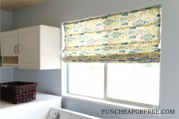 DIY No Sew Roman Shades (16)