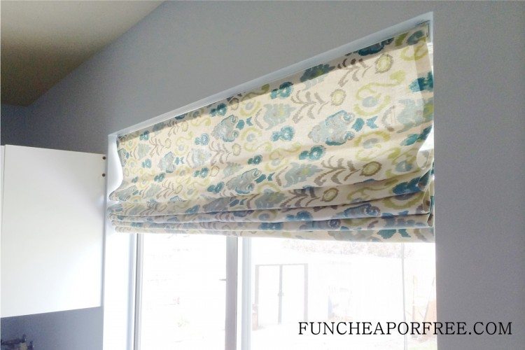 DIY No Sew Roman Shades (22)