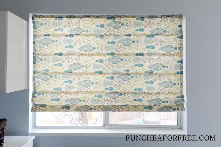 DIY No Sew Roman Shades (23)