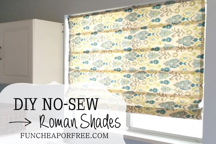 DIY No Sew Roman Shades (24)