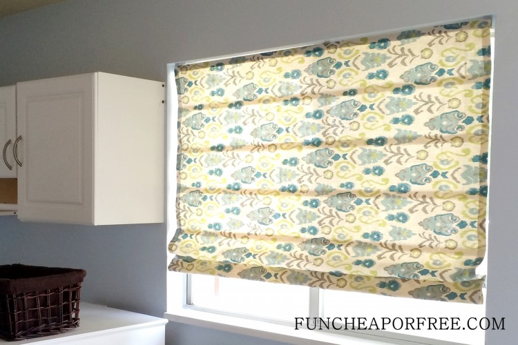 DIY No Sew Roman Shades (25)