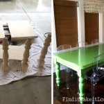 Glossy Dining Table- Transformation Tuesday
