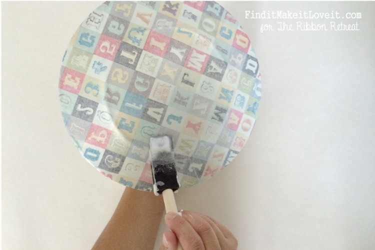 Fabric covered glass plate (3)