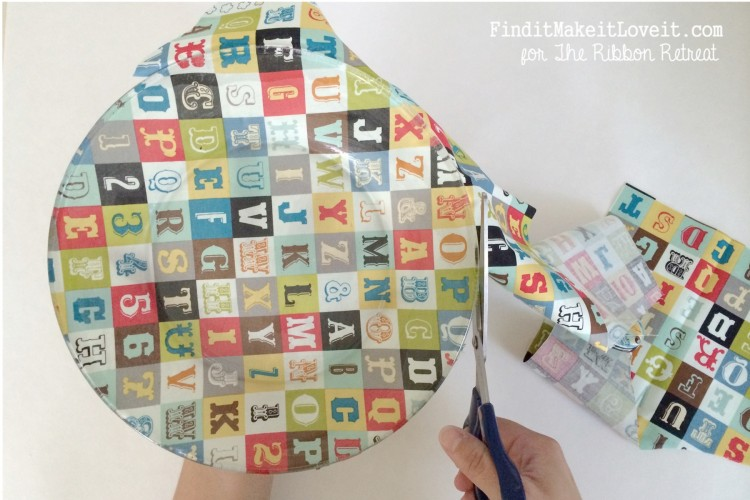 Fabric covered glass plate (4)