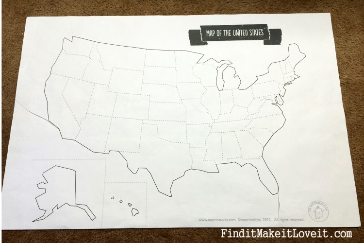 Huge Chalkboard Map (9)