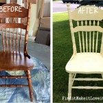 Re-finished Chairs, DIY Chalk Paint