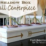 Shadow Box Fall Centerpiece