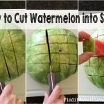 How to Cut Watermelon Sticks – Perfect BBQ Food!