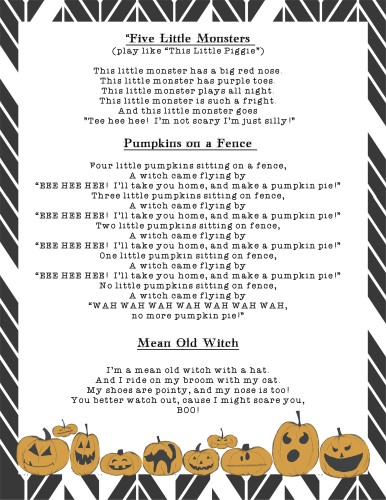 Halloween Songs and Rhymes - Page 2
