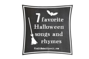 Halloween songs and rhymes