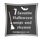 Halloween Songs-Free Printables!