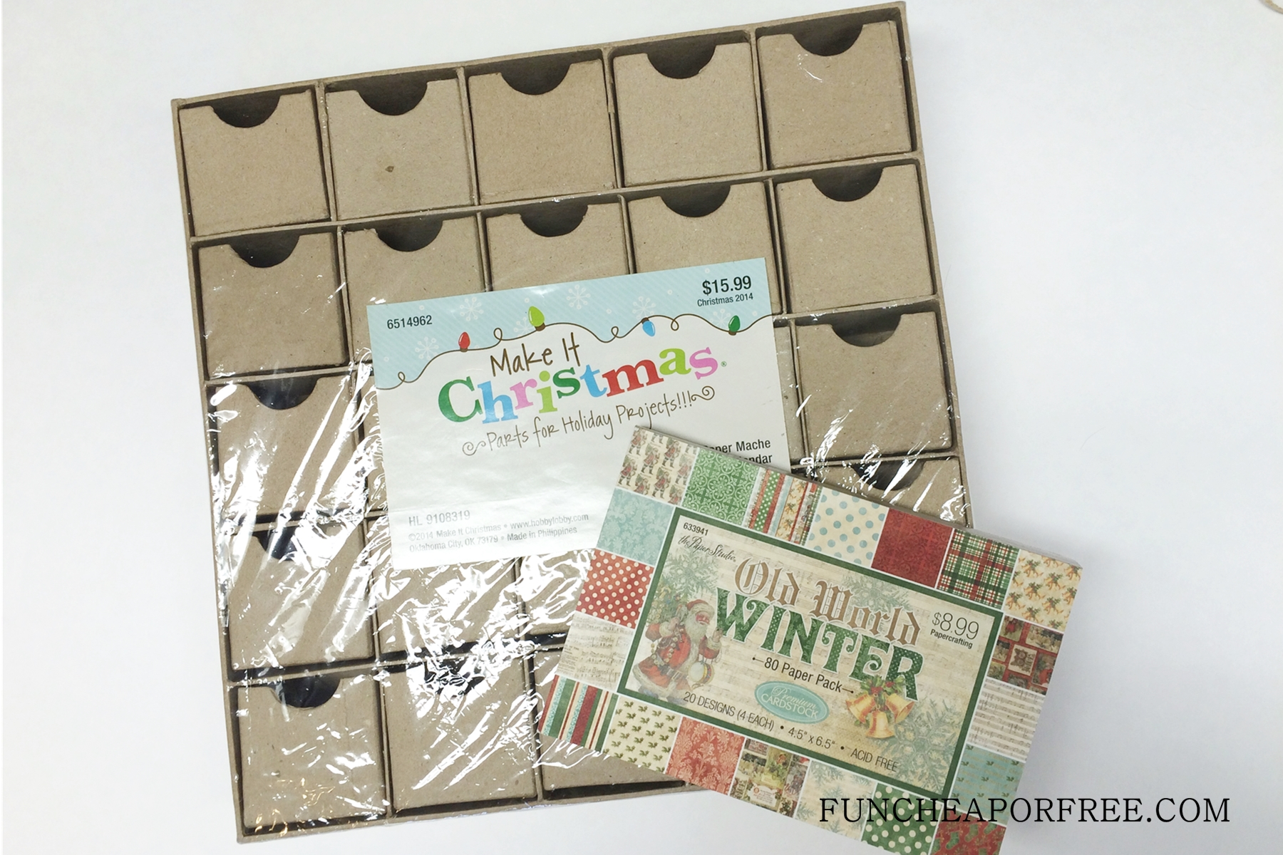 Diy Advent Calendar For Adults : Diy advent calendar all you need is scrapbook paper fun cheap