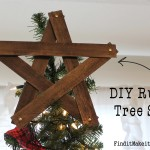 DIY Rustic Tree Star