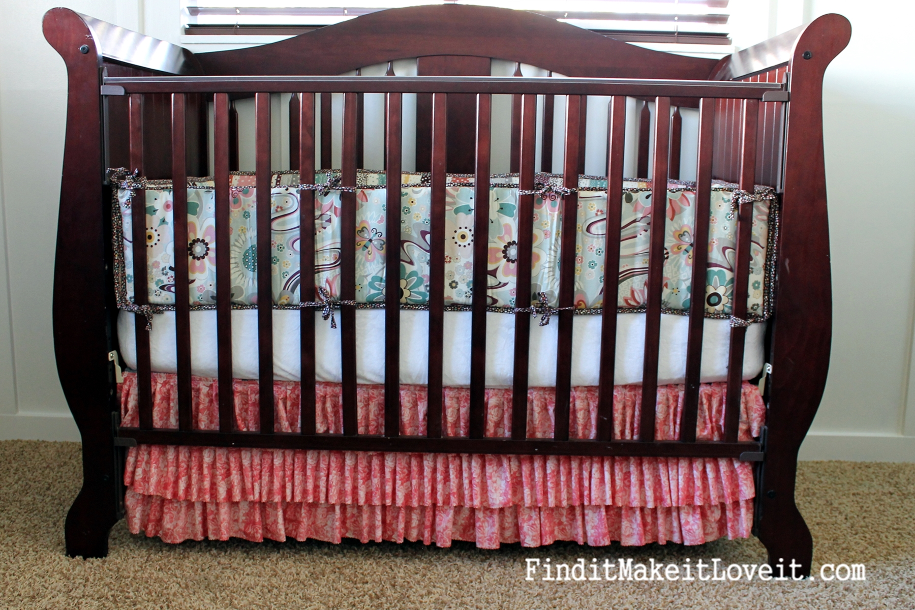 78 Ruffle Crib Skirt