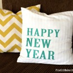 Happy New Year Pillow