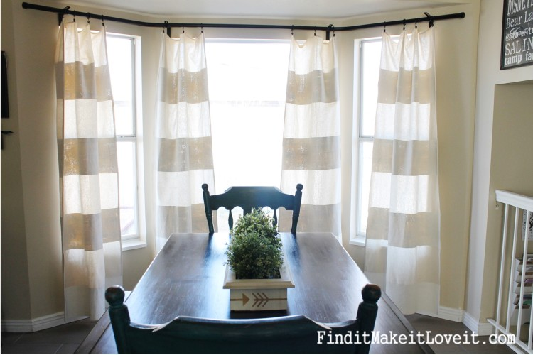 DIY Painted Drop Cloth Curtains (11)