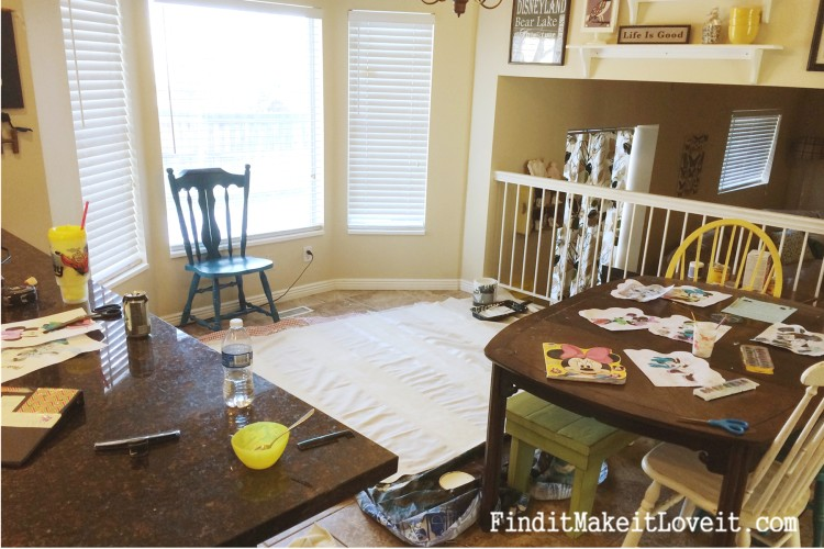 DIY Painted Drop Cloth Curtains (14)