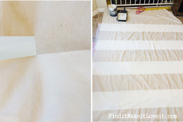 DIY Painted Drop Cloth Curtains (2)